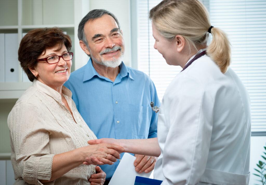 Senior cancer patient with North Scottsdale registered nurse healthcare or medical advocate